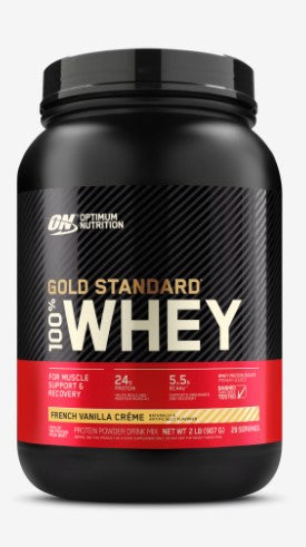 GOLD STANDARD 100% WHEY FRENCH VANILLA