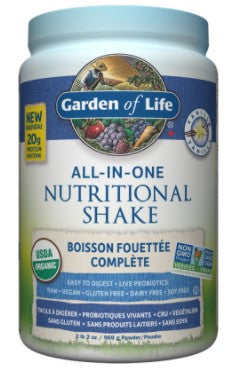 ORGANIC ALL IN ONE VANILLA PROTEIN SHAKE