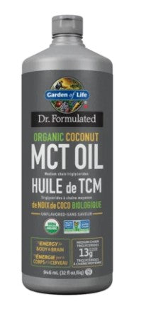 DR. FORMULATED ORGANIC MCT OIL