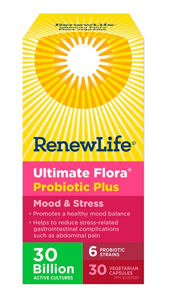 ULTIMATE FLORA MOOD AND STRESS PROBIOTIC