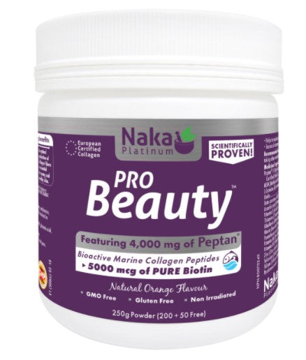 PRO BEAUTY 250G ORANGE FLAVOUR