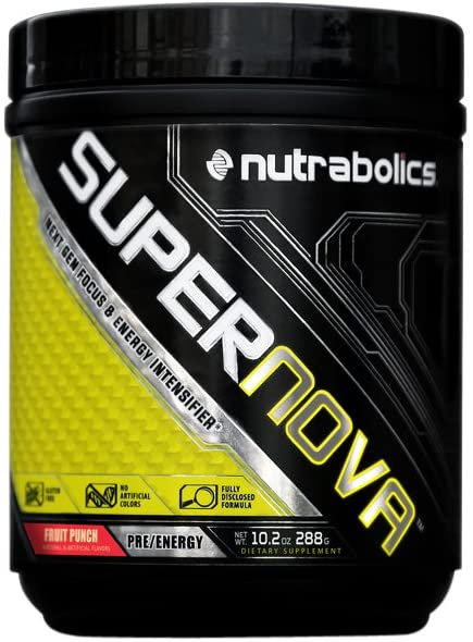SUPERNOVA PREWORKOUT FRUIT PUNCH