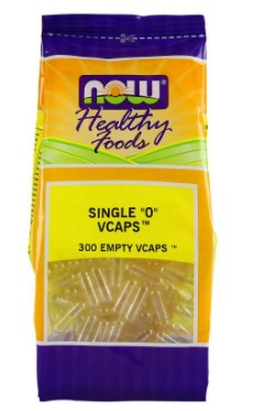 EMPTY VEGETABLE CAPSULES SIZE 0