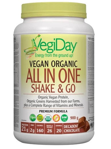 VEGAN ORGANIC ALL IN ONE SHAKE CHOCOLATE