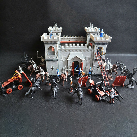 Kids Knights Game Model Building