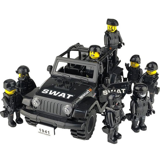 Military Special Forces Soldiers Bricks