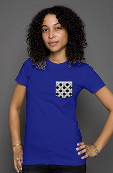 Women's T - Polka Mfn Pocket