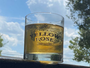 Yellow Rose Distilling Whiskey Glass