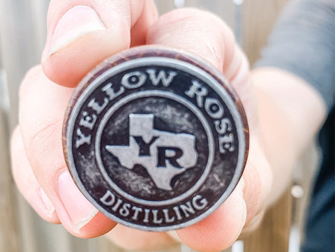 Yellow Rose Distilling Texas Magnet
