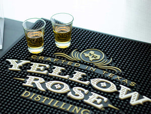 Yellow Rose Distilling Bar Mat
