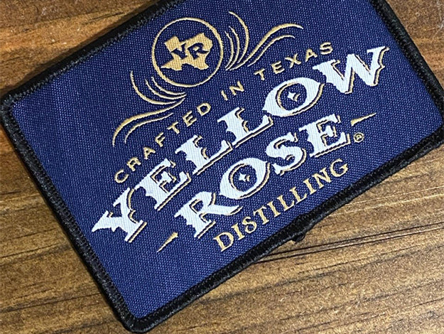 Yellow Rose Distilling Iron-On Patch