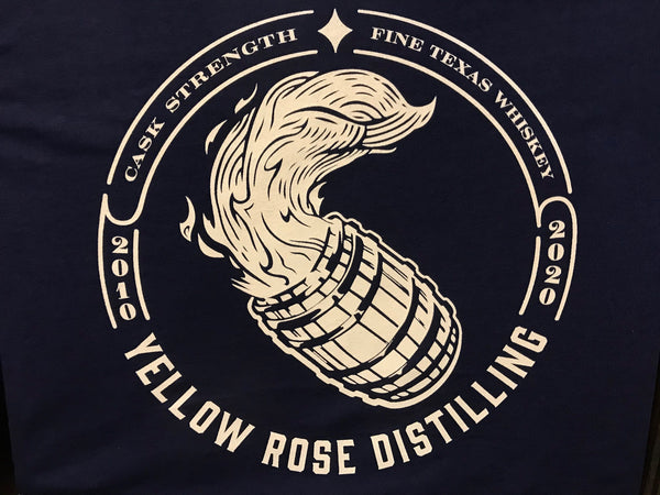 Yellow Rose Distilling 10th Anniversary Limited Edition Shirt