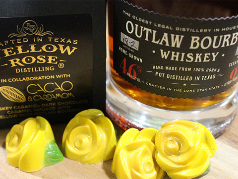 Yellow Rose Distilling Dark Chocolates