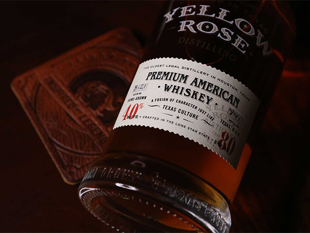 Yellow Rose Distilling Premium American Whiskey