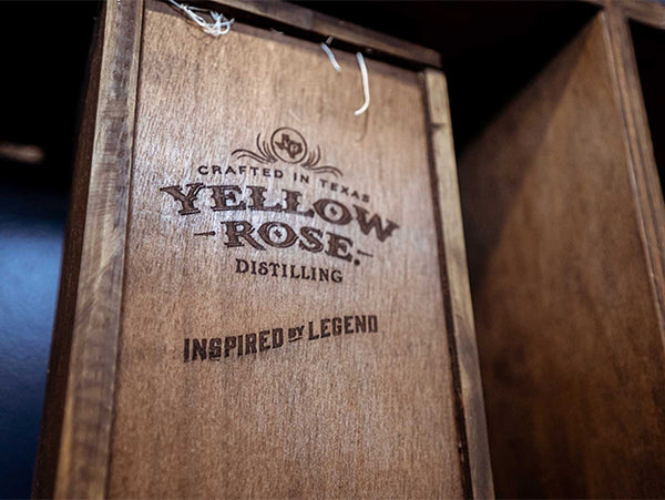 Yellow Rose Distilling Wood Box