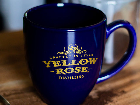 Yellow Rose Distilling Coffee Cup