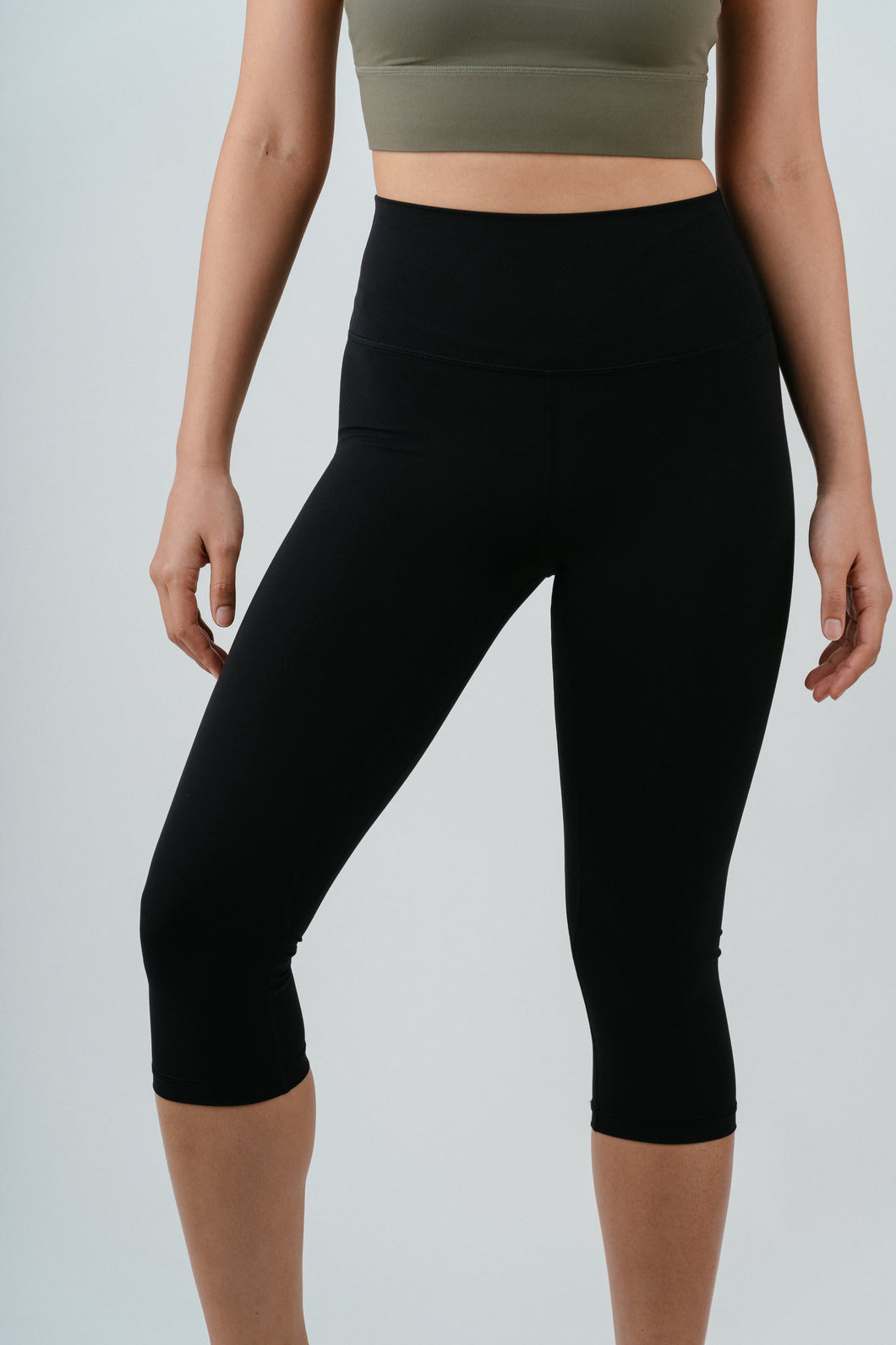 Limitless Crop Tights (Onyx)