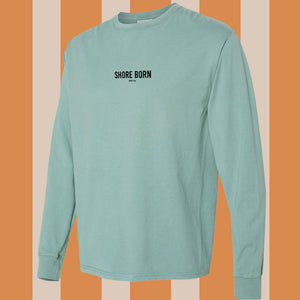 Shore Born Long Sleeve Seagull - Cypress