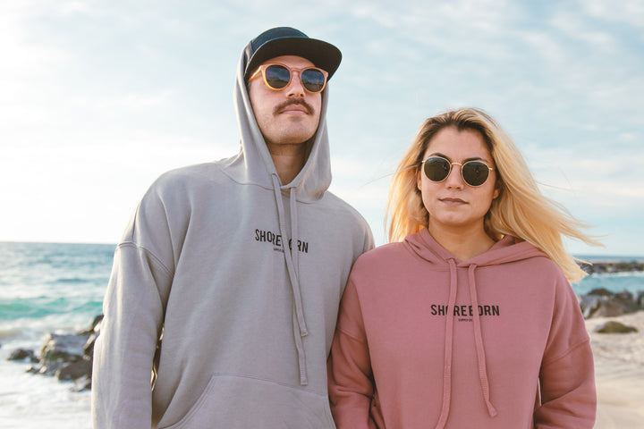 Shore Born Hoodie is the most comfortable hoodie you will wear!