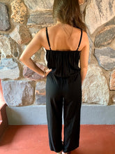 Load image into Gallery viewer, Black Embroidered Jumpsuit