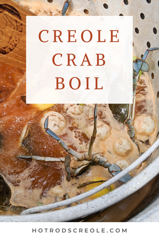 Hot Rod's Creole Crab Boil Directions