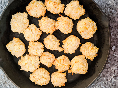Hot Rod's Creole Garlic Butter Biscuit Recipe