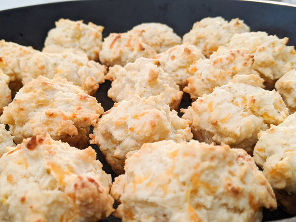 Hot Rod's Creole Cheesy Garlic Butter Biscuit Recipe