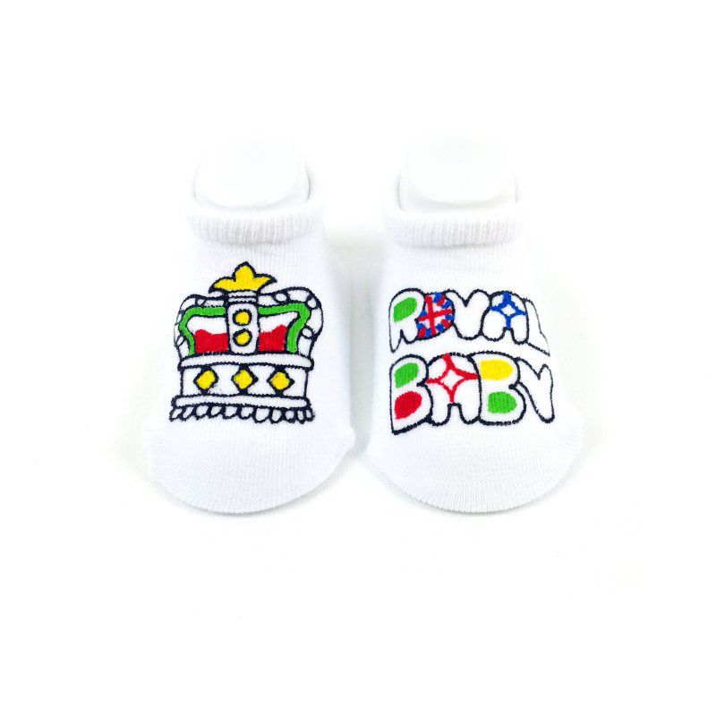 Royal Baby Baby Socks
