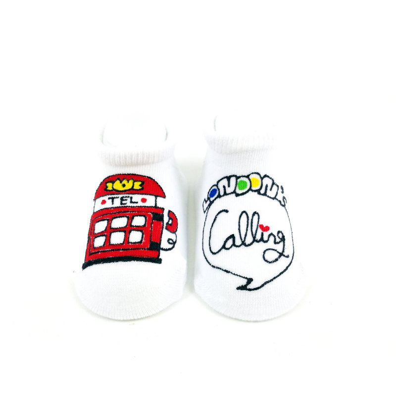 Phone Baby Socks