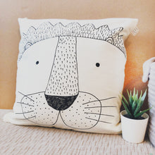 Load image into Gallery viewer, Lion Cushion