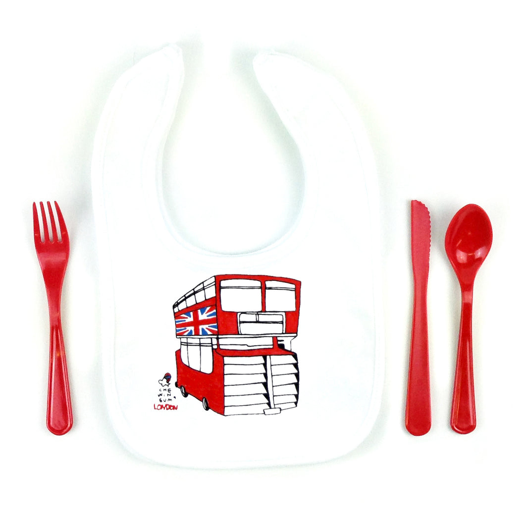 London Bus Bib