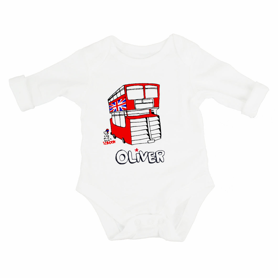 London Bus Bodysuit