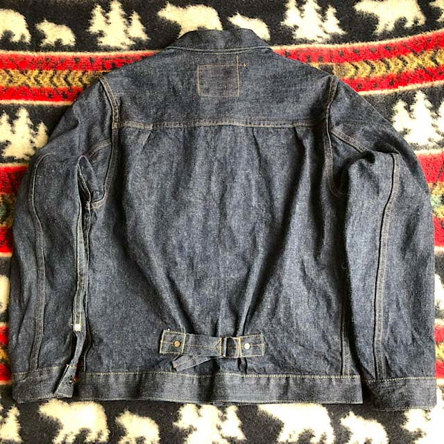 Burgus Plus Denim Jacket 1st Type 71928-XX