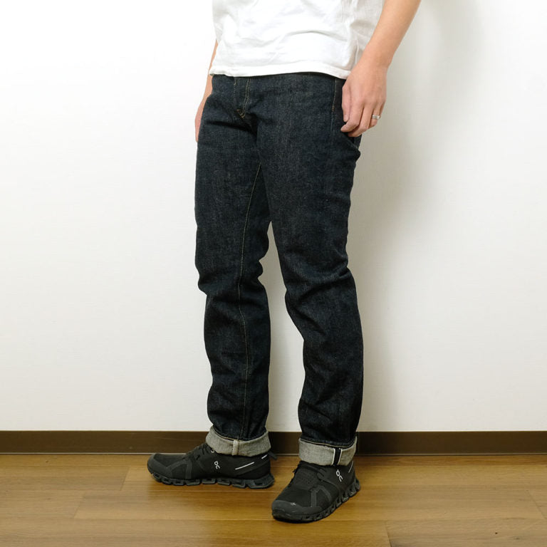 ONI Denim(鬼デニム)Neat Straight 16oz Green Cast Denim ONI-246GC16