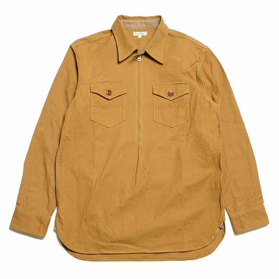 BURGUS PLUS Pull Over Zip Shirt BP18501