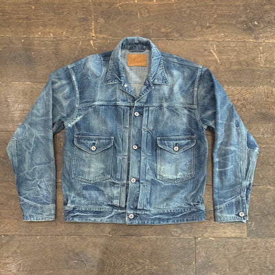 OLD JOE BRAND Open Collar Ranch Jacket(Scar Face)