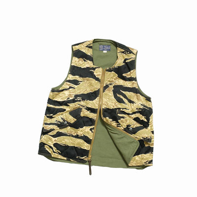 Buzz Rickson's Gold Tiger Camouflage Pattern Vest Civilian Model