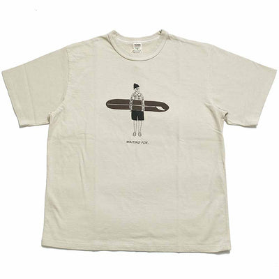 "BARNS S/S T-SHIRT ""WAITING FOR"" BR-21130"