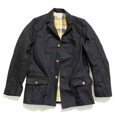 "Mr. Freedom×SUGARCANE 16oz. MIDNIGHT DENIM ""PIONEER"" BLAZER ミスターフリーダム ポインタージャケット"