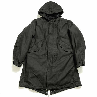 WILLIAM GIBSON COLLECTION BLACK M-51 PARKA With LINER
