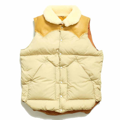 WAREHOUSE × Rocky Mountain Featherbed CHRISTY VEST ウエアハウス×ロッキーマウンテンクルスティベスト