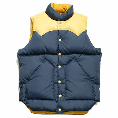 WAREHOUSE × Rocky Mountain Featherbed DOWN VEST ウエアハウス×ロッキーマウンテン フェザーベッドダウンベスト
