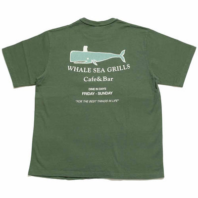 "BARNS S/S T-SHIRT ""WHALE SEA GRILLS"" BR-21131"