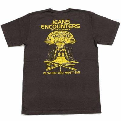 "STUDIO D'ARTISAN USA COTTON S/S T-SHIRT ""JEANS ENCOUNTERS"" 8030B"