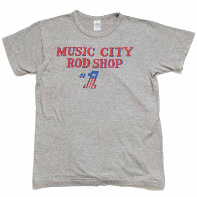 "WAREHOUSE 2ND HAND SERIES Lot.4064 S/S T-SHIRTS ""MUSIC CITY"" 4064MUS-21"