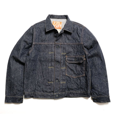 Burgus Plus Natural Indigo 1st Type Denim Jacket