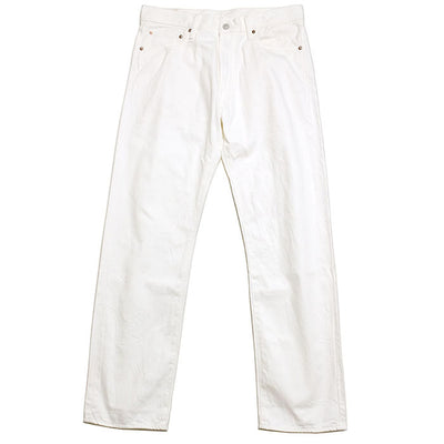Burgus Plus 11oz Standard Selvedge White Denim
