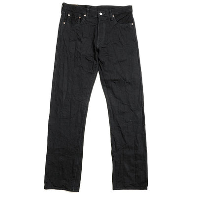 Burgus Plus 15oz Selvedge Black × Black Denim