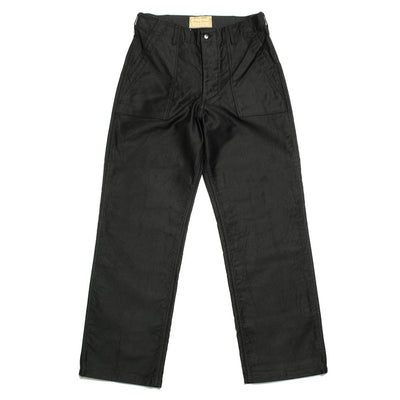 BUZZ RICKSON'S WILLIAM GIBSON COLLECTION TROUSES MEN'S JUNGLE CLOTH BLACK