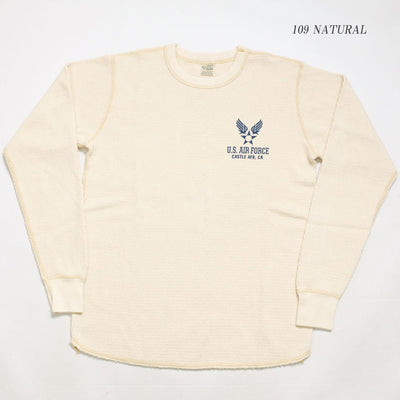 "Buzz Rickson's L/S THERMAL T-SHIRT ""U.S.AIR FORCE"""